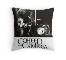 coheed and cambria concert claudio sanchez Throw Pillow