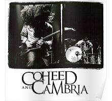 coheed and cambria concert claudio sanchez Poster