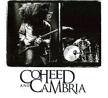 coheed and cambria concert claudio sanchez Photographic Print