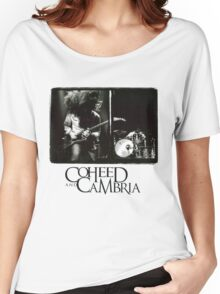 coheed and cambria concert claudio sanchez Women's Relaxed Fit T-Shirt