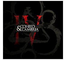 coheed and cambria good apollo album cover Photographic Print
