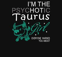 Spychotic Taurus Girl Womens Fitted T-Shirt