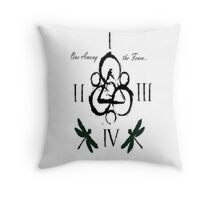 coheed and cambria one among Throw Pillow