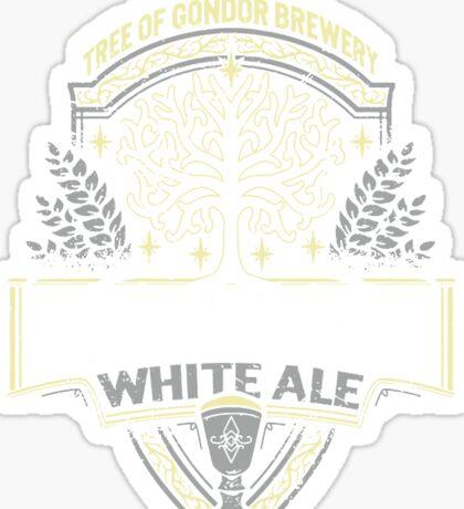 Minas Tirith White Ale Sticker