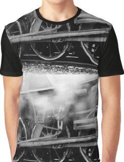Steam Locomotive Gear Graphic T-Shirt