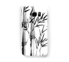 Black and white bamboo forest Samsung Galaxy Case/Skin