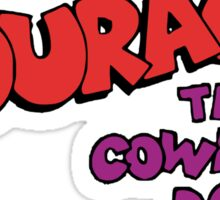 Courage the Cowardly Dog  Logo Sticker