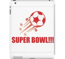 exciting sport of football iPad Case/Skin