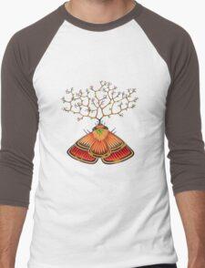tree - moth (original sold) Men's Baseball ¾ T-Shirt