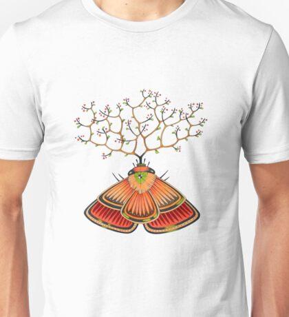 tree - moth (original sold) Unisex T-Shirt