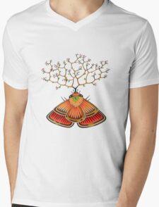 tree - moth (original sold) Mens V-Neck T-Shirt