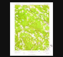 USGS TOPO Map Connecticut CT Montville 330674 1958 24000 Unisex T-Shirt