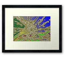 Covax City Framed Print