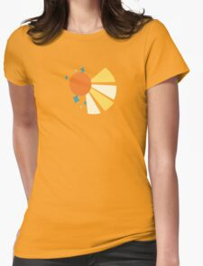 My little Pony - Sunburst Cutie Mark V3 Womens Fitted T-Shirt