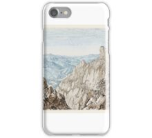 Walter John Trower, Bishop of Gibraltar Montserrat Looking to Barcelona. iPhone Case/Skin