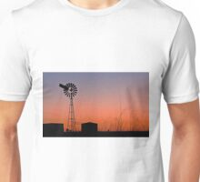 Oakey Sunset  - Qld Australia Unisex T-Shirt