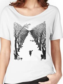 The Cat Who Walks By Himself Women's Relaxed Fit T-Shirt