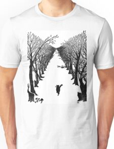 The Cat Who Walks By Himself Unisex T-Shirt