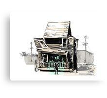 Buster keaton Steamboat Bill Canvas Print