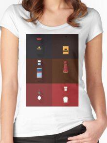 Sauce Spectrum Women's Fitted Scoop T-Shirt