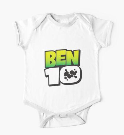 Ben Ten Logo One Piece - Short Sleeve