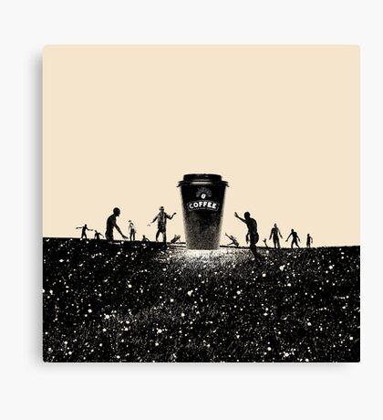 Need Coffee! Canvas Print