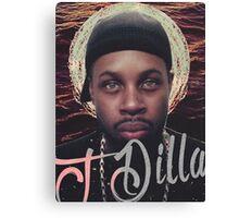 J Dilla - Jmadera print Canvas Print