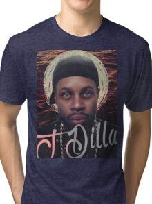 J Dilla - Jmadera print Tri-blend T-Shirt