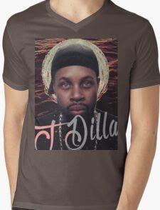 J Dilla - Jmadera print Mens V-Neck T-Shirt