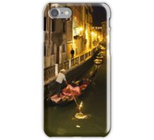 Impressions of Venice - Gliding Towards the Gold iPhone Case/Skin