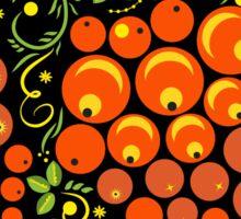Decorative Hohloma Egg Easter Sticker
