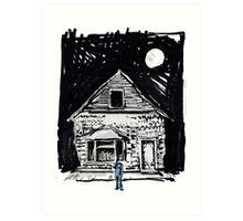 Buster Keaton One Week Art Print