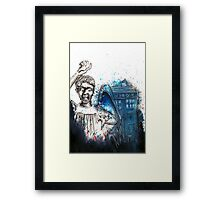 Don't blink Framed Print