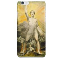 william blake - angel of revelation iPhone Case/Skin
