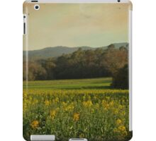 Once Upon a Time a Field of Flowers iPad Case/Skin