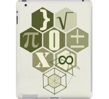 math t-shirt army  iPad Case/Skin