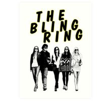 THE BLING RING Art Print