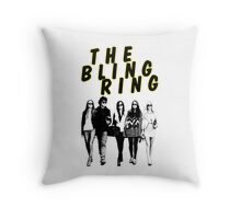 THE BLING RING Throw Pillow