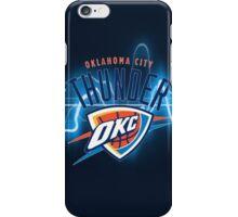 THUNDER OKLAHOMA CITY  iPhone Case/Skin