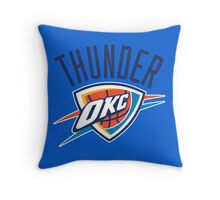 THUNDER OKLAHOMA CITY  Throw Pillow