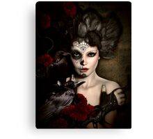 Darkside Sugar Doll Canvas Print