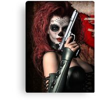 Sugar Doll Long Night of the Dead Canvas Print