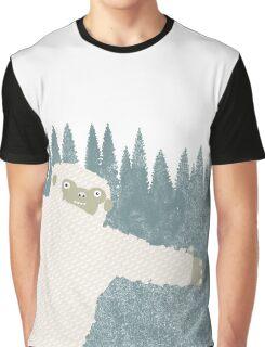 Yeti Hug Graphic T-Shirt