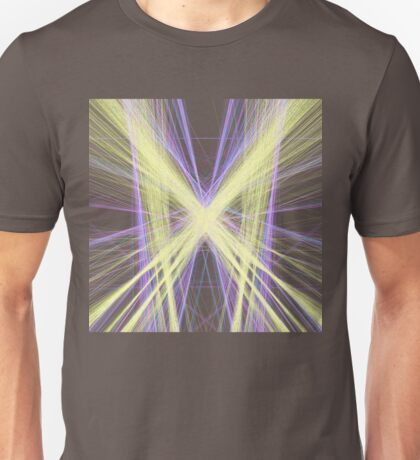 Linify Yellow butterfly Unisex T-Shirt