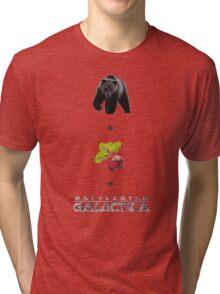 Baers + Beets + Battlestar Galactica (Colour) Tri-blend T-Shirt