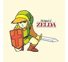 The Legend of Zelda - Classic Link Photographic Print