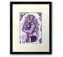 Stylish Crystal Framed Print