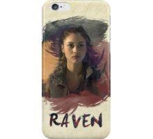 Raven - The 100 -  Brush iPhone Case/Skin