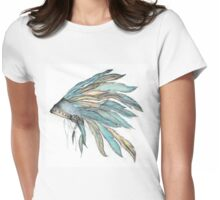 INDIAN feather Womens Fitted T-Shirt