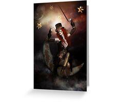 Maestro Steampunk Greeting Card